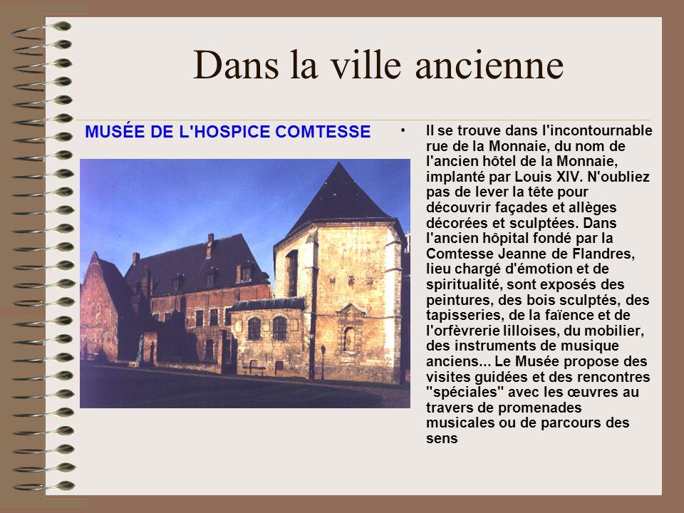 Dans la ville ancienne L empreinte de Vauban: - La citadelle: érigée de 1667 à 1670 (destinée à protéger la ville contre les Pays Bas espagnols) - La Porte de Gand et la Porte de Roubaix: témoins de l agrandissement de la ville entre 1617 et 1621.