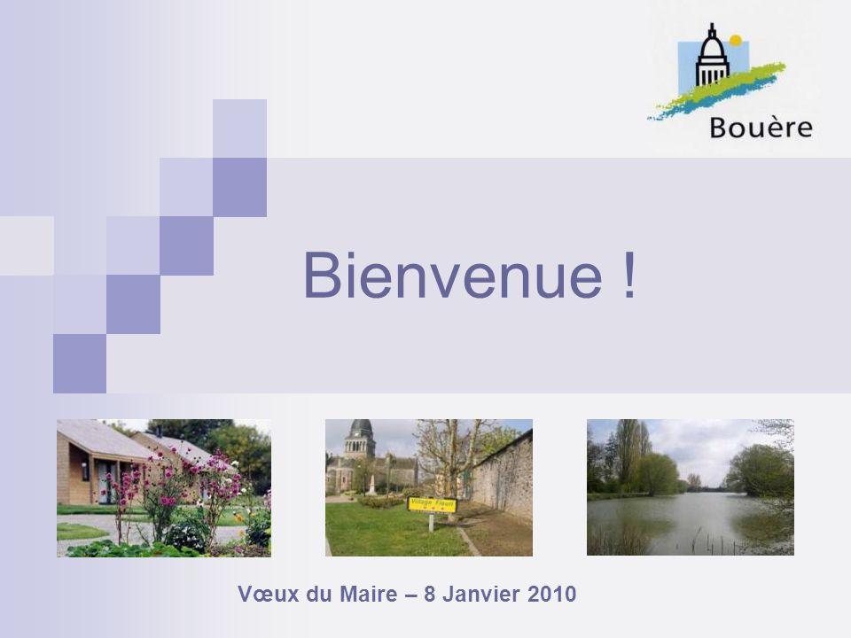 Bienvenue ! Vœux du Maire – 8 Janvier 2010