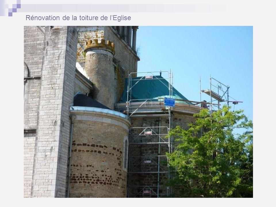 Rénovation de la toiture de lEglise