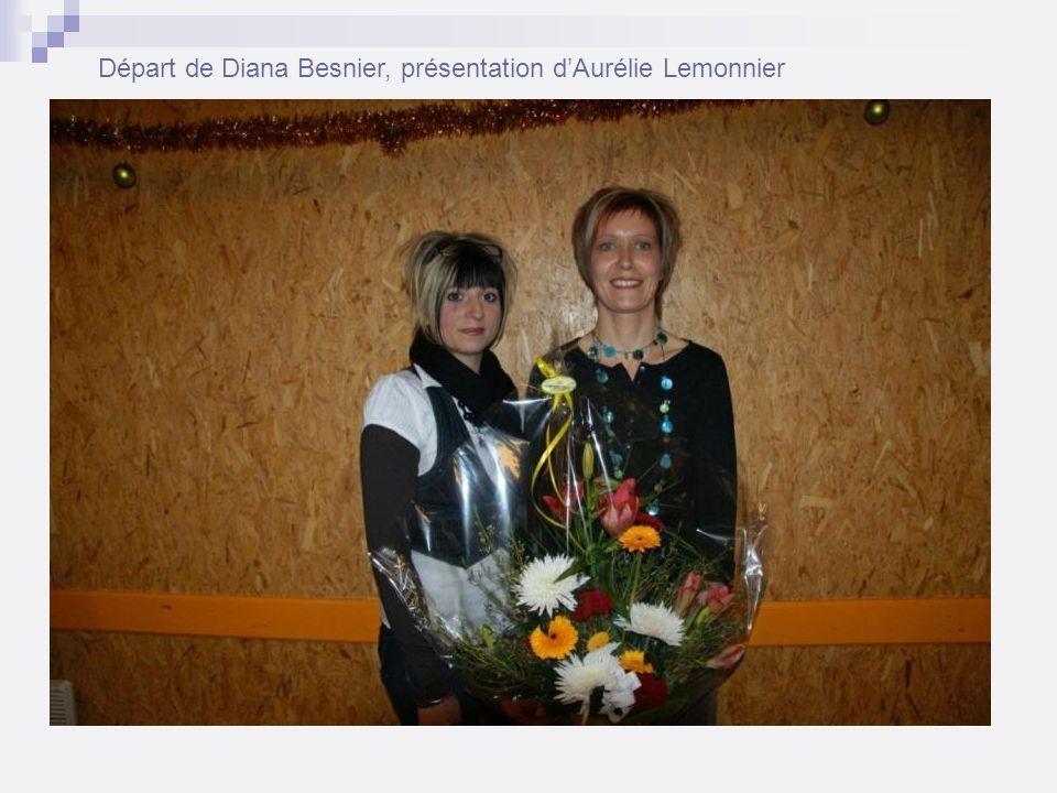 Départ de Diana Besnier, présentation dAurélie Lemonnier