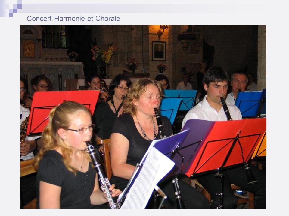 Concert Harmonie et Chorale