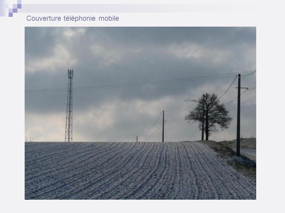 Couverture téléphonie mobile