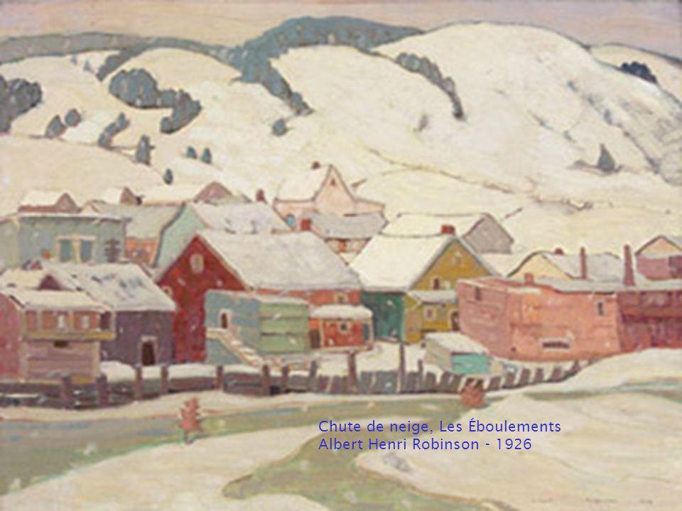 Hiver, le Bras nord-ouest, Halifax Elizabeth Styring Nutt - 1927