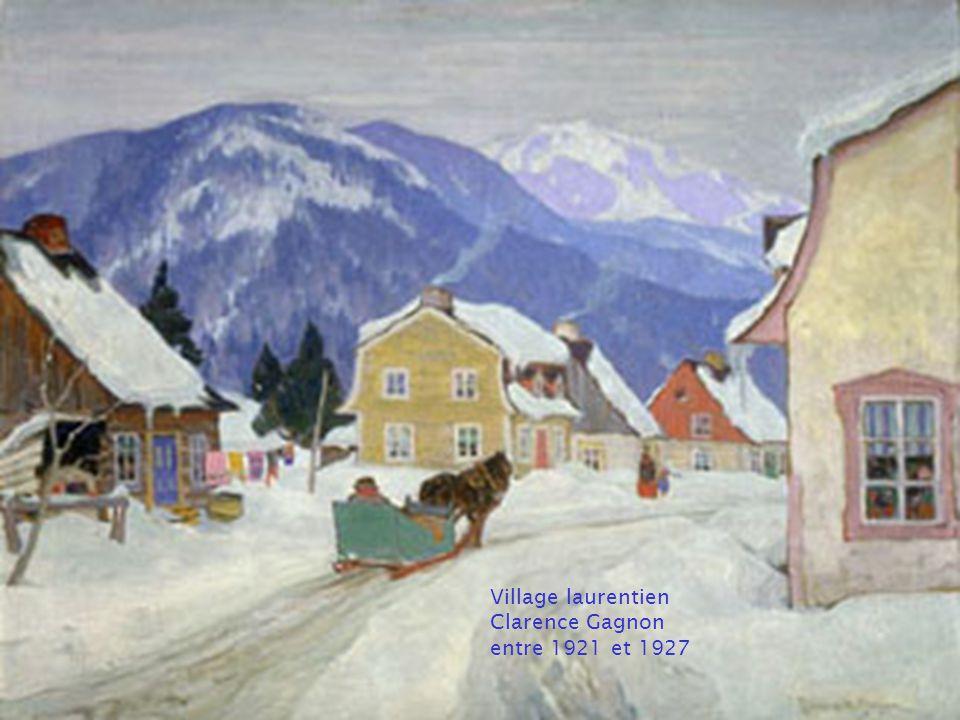 Les peintres célèbres canadiens Paysages dhiver Montage: Serge Lévesque Musique: Carol of the bells Boston Philarmonic Orchestra