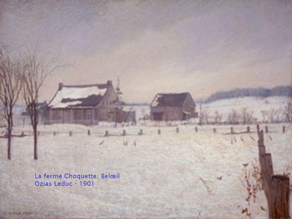 Les ombres qui passent, Rivière Nicolet Marc-Aurèle de Foy Suzor-Côté - 1925