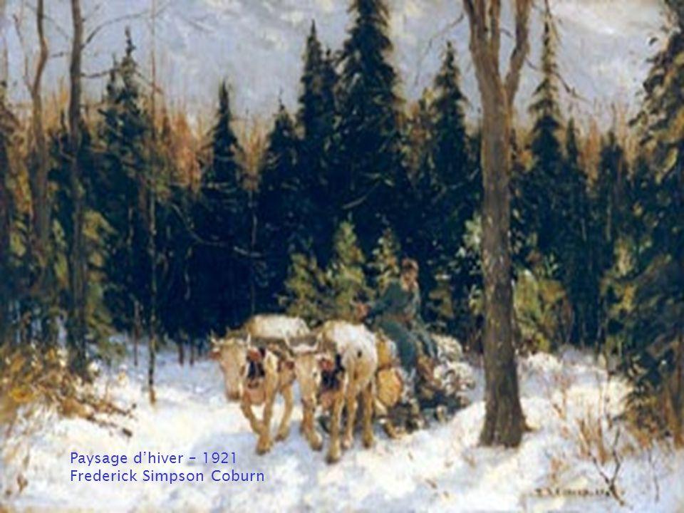 La ferme Choquette, Belœil Ozias Leduc - 1901