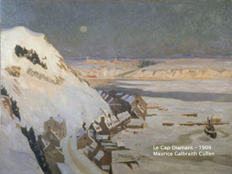 Exploitation forestière en hiver, à Beaupré Maurice Galbraith Cullen - 1896