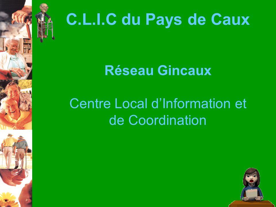C.L.I.C du Pays de Caux Réseau Gincaux Centre Local dInformation et de Coordination