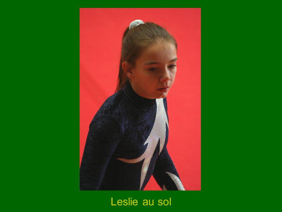 Leslie au sol