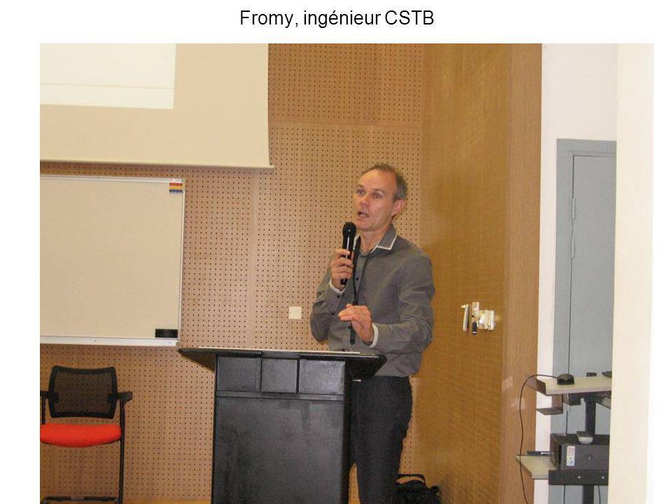 Fromy, ingénieur CSTB