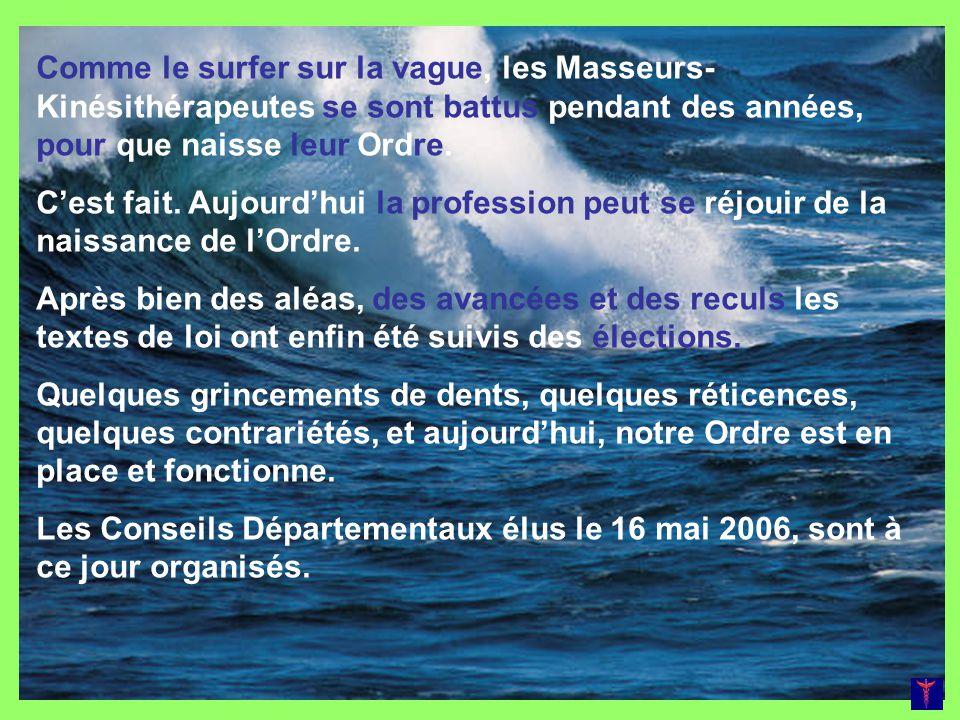 Le Bureau Président : François MAIGNIEN (L) Vice Présidente : Christelle HAMON (S) Secrétaire : Jean-Yves TRAMOY (L) Trésorier : Bertrand AUTRET (L) Plus de détails concernant la composition du Conseil Départemental Sur http://www.omkr29.eu