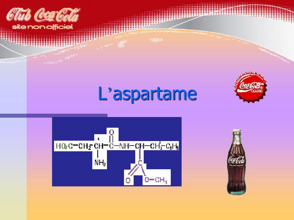 n Le sucre du coca a é t é remplac é par l aspartame.