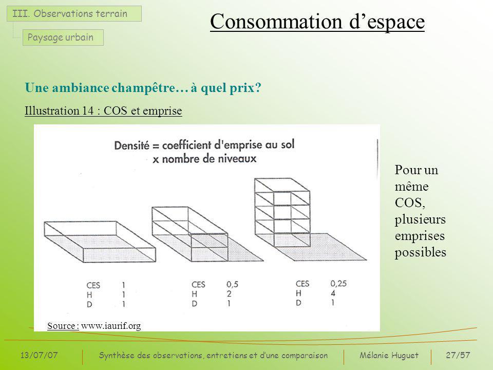 Mélanie Huguet27/57 13/07/07Synthèse des observations, entretiens et dune comparaison III.