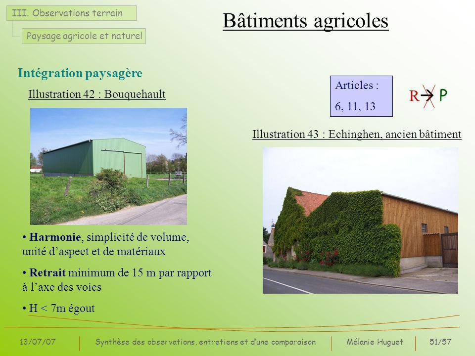 Mélanie Huguet51/57 13/07/07Synthèse des observations, entretiens et dune comparaison III.