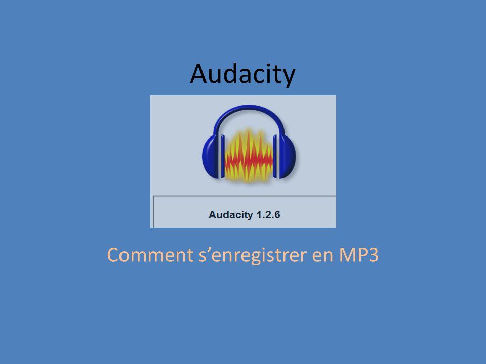Écran de démarrage Microphone doit être sélectionné Vérifier aussi les niveaux sonores
