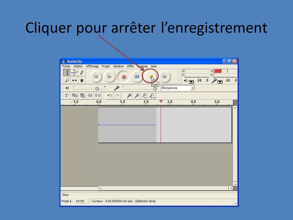 Enregistrement du Fichier 1 Ouvrir le menu fichier 2. Choisir exporter comme MP3