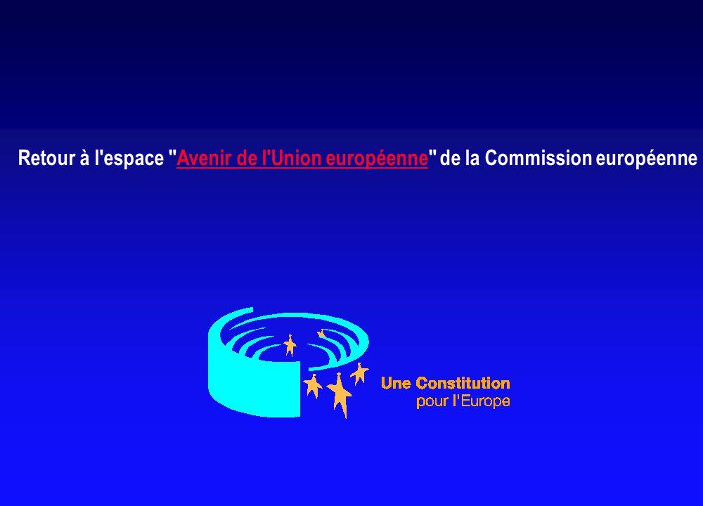 Retour à l espace Avenir de l Union européenne de la Commission européenneAvenir de l Union européenne