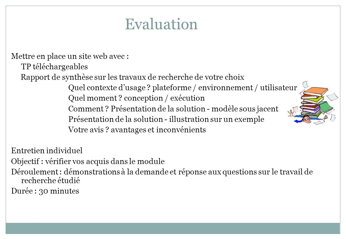 Motivations et exemples dapplications visées