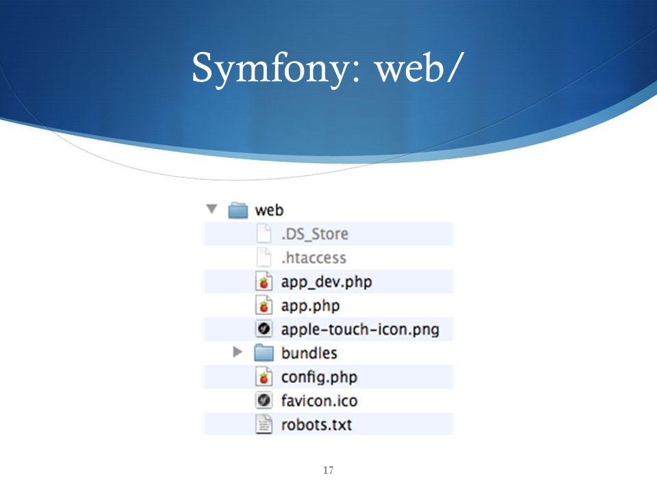Symfony: web/ 17