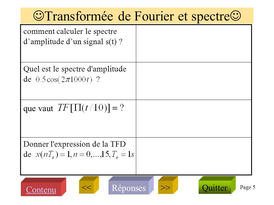 Page 4 Synthétiser et simuler avec Matlab Que signifie MATLAB ? Comment créer un vecteur temps durant 3 secondes avec f e =1000Hz. Comment créer dans