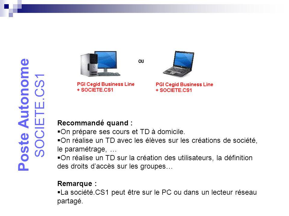 Réseau Poste à Poste MSDE + SOCIETE.CS1