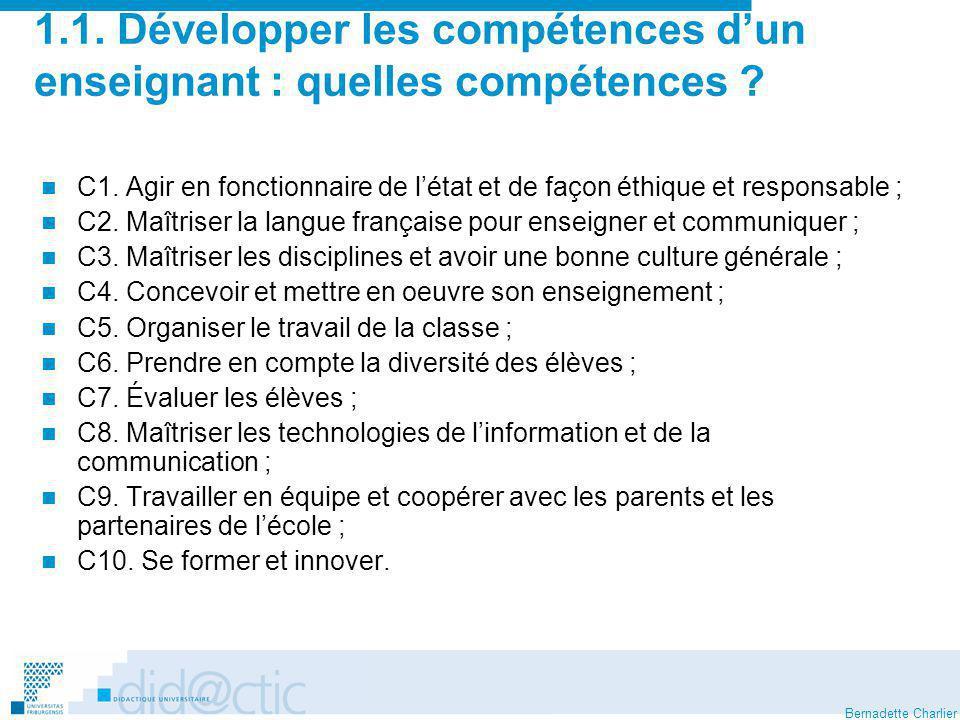 Bernadette Charlier Des dimensions innovantes liées à la mise à distance..