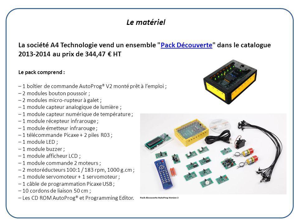 La société A4 Technologie vend un ensemble