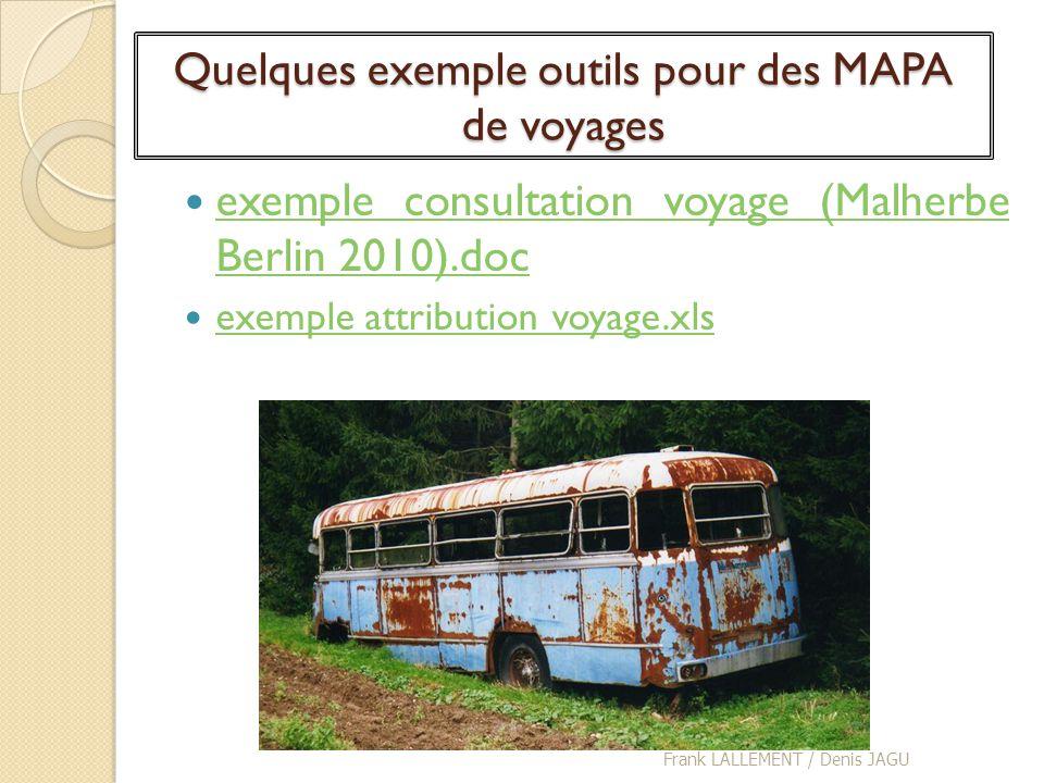 Quelques exemple outils pour des MAPA de voyages exemple consultation voyage (Malherbe Berlin 2010).doc exemple consultation voyage (Malherbe Berlin 2