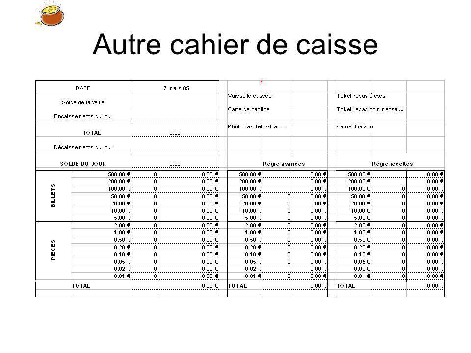 La classe 5 : la caisse 50 531 4112 Encaissement de la quittance Dans notre exemple, le fonds de caisse a augmenté de 50 et nous constatons que les comptes de disponibilités augmentent au débit cest-à-dire à lopposé de nos comptes personnels !