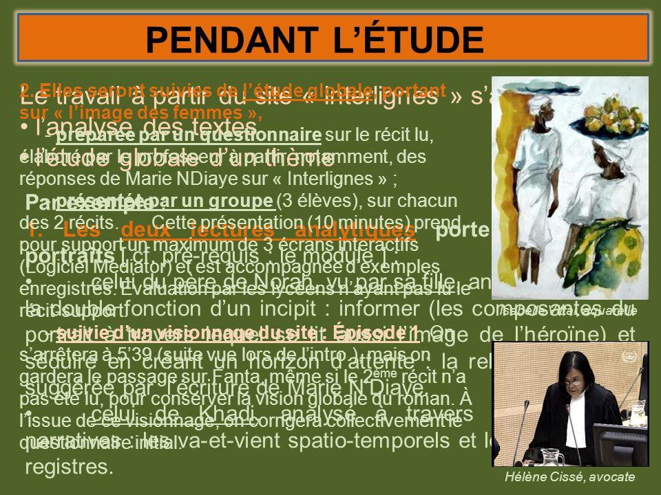 PENDANT LÉTUDE Autre exemple : pour la conclusion 1.Effectuer la dernière lecture analytique (épilogue du 3 ème récit) - pour compléter le sens du titre : quelle « puissance » ici .