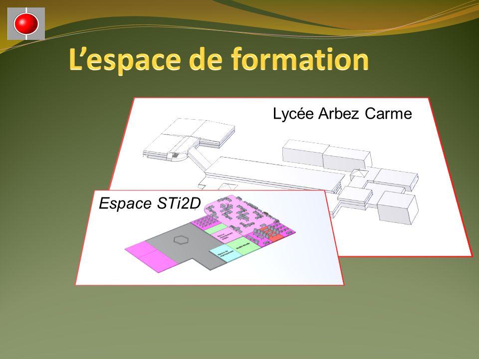 Lycée Arbez Carme Espace STi2D