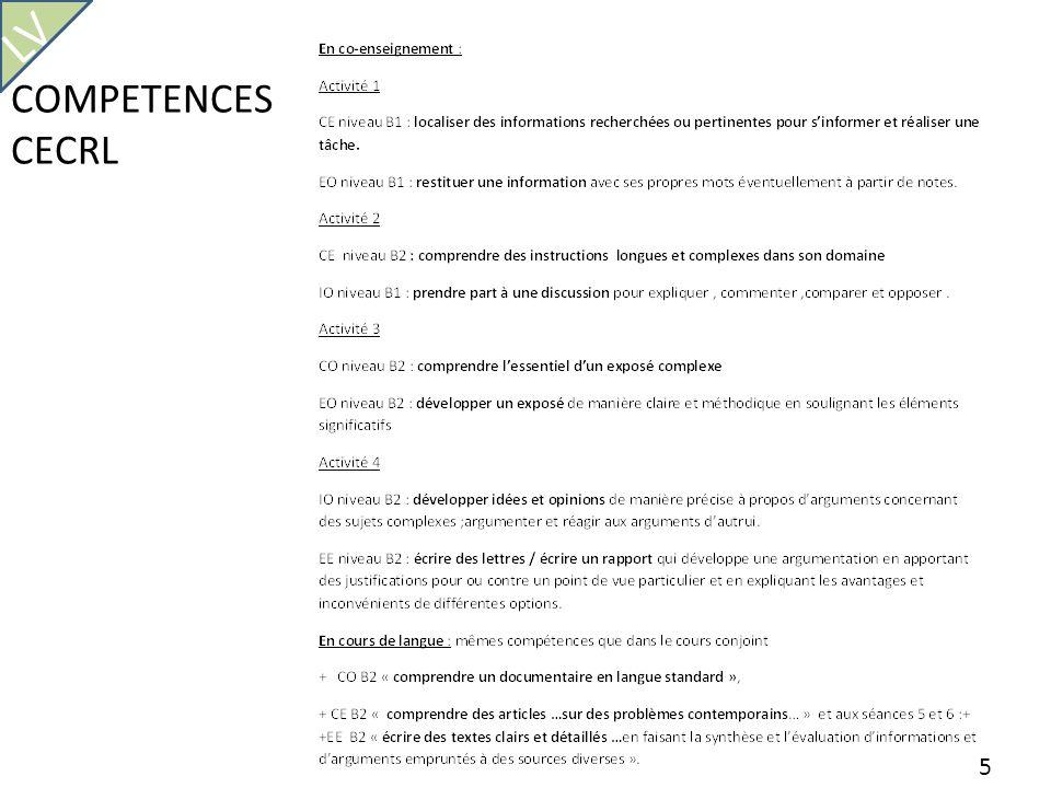 COMPETENCES CECRL 5 LV