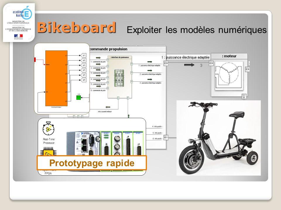 Bikeboard Exploiter les modèles numériques Prototypage rapide