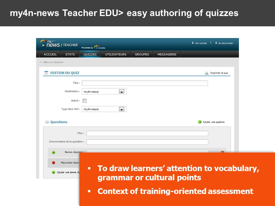my4n-news Learner> An authentic English-language newsroom VIDEOS, AUDIOS AND ARTICLES UPDATED EVERY DAY FROM INTERNATIONAL NEWS AGENCIES