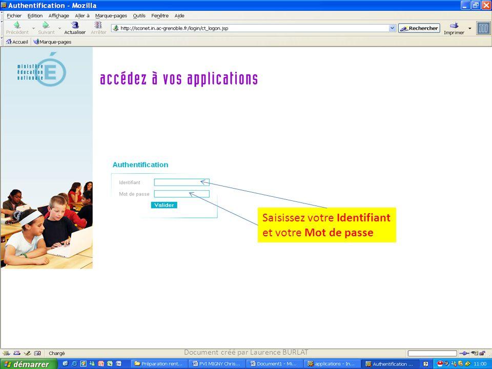 Cliquez sur longlet Lieu(x) dexercice Document créé par Laurence BURLAT