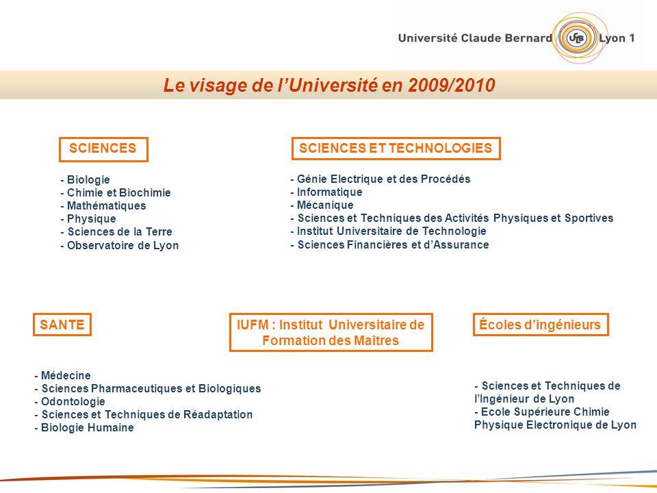 SCIENCESSCIENCES ET TECHNOLOGIES SANTE - Biologie - Chimie et Biochimie - Mathématiques - Physique - Sciences de la Terre - Observatoire de Lyon - Gén