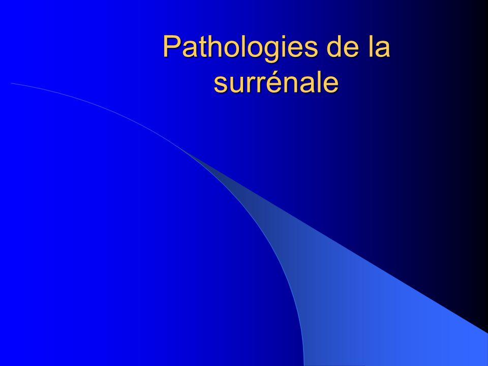 Pathologies de la surrénale