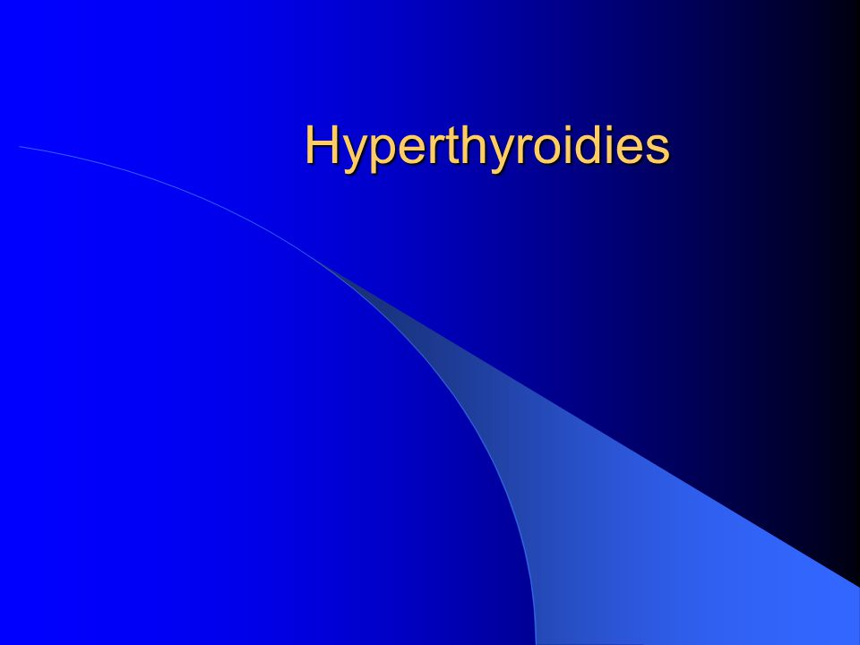 Ch Thivolet, 2003 Thyroidites dHashimoto: formes cliniques Formes compliquées: lymphome thyroidien Formes transitoires avec hyperthyroidie: Hashitoxicosis Formes sans goitre: destruction autoimmune du corps thyroide Recherche des anticorps anti-R TSH chez la femme enceinte