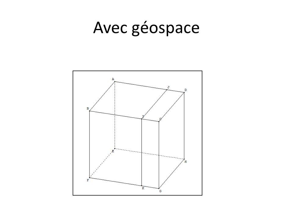 Avec géospace