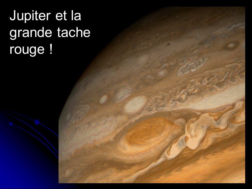 Jupiter et la grande tache rouge !