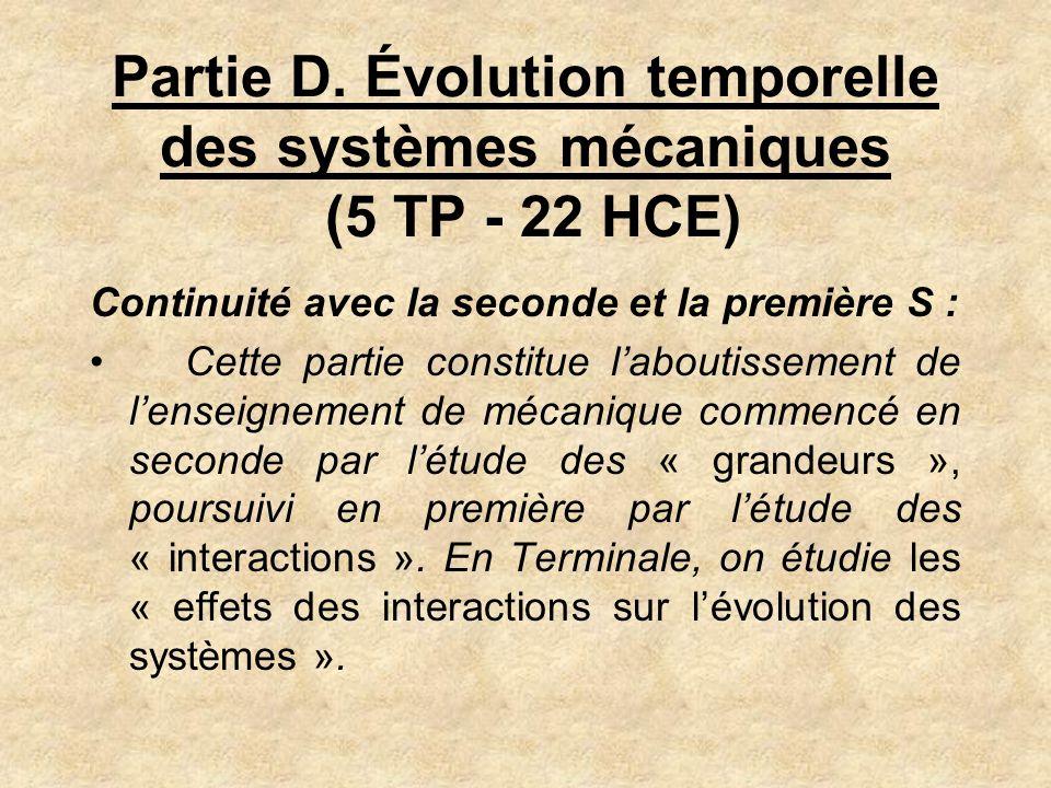 La démarche de modélisation On part de situations réelles quon étudie expérimentalement Mouvement dans un fluide Oscillations dun solide On construit ensuite le modèle...