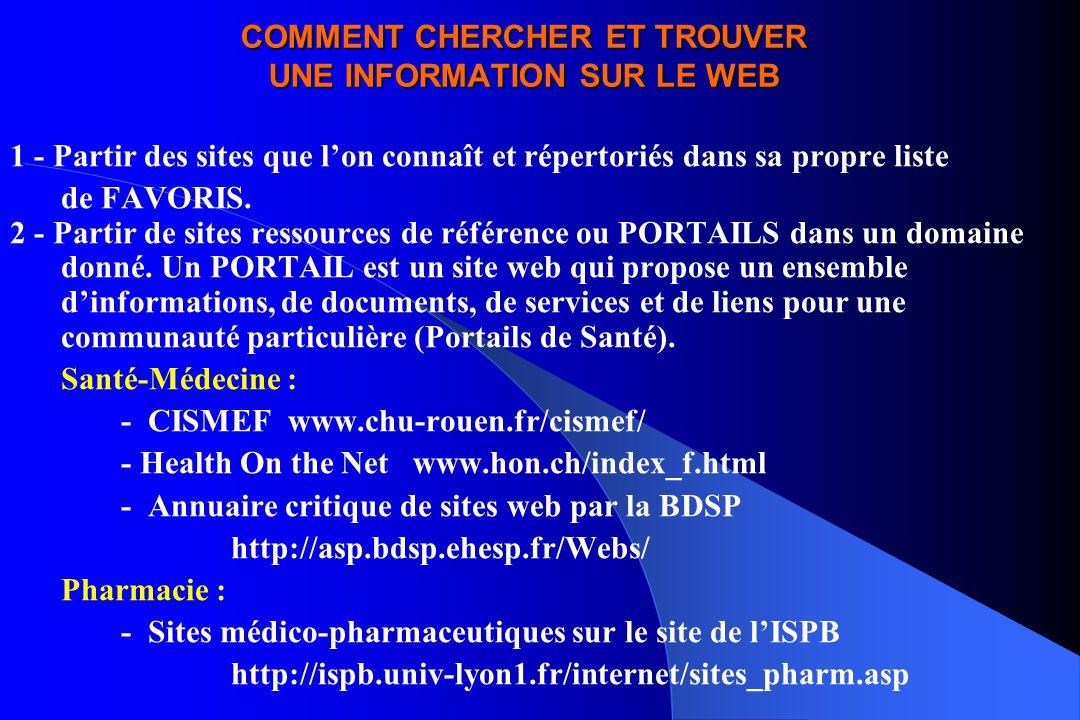 COMMENT CHERCHER ET TROUVER UNE INFORMATION SUR LE WEB 3 - Consulter les ANNUAIRES de recherche : Open Directory.