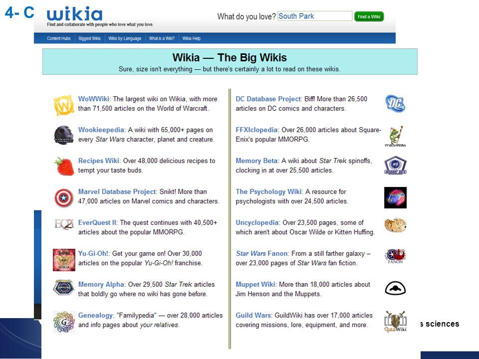 Utilisation du wiki pour l enseignement des sciences Christophe BATIER