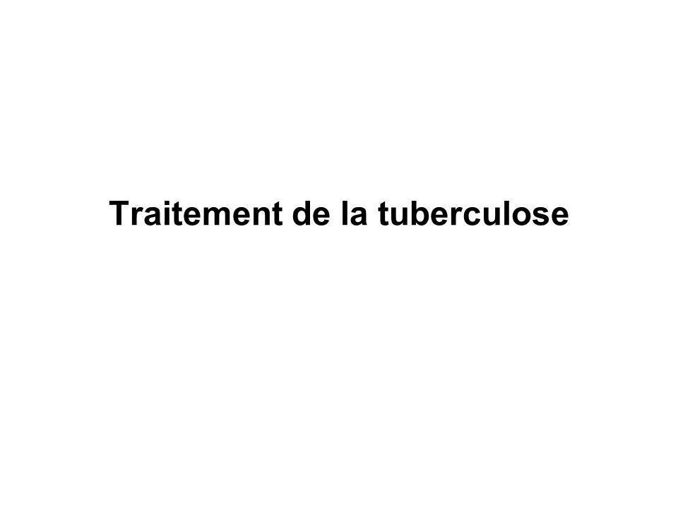 Traitement de la tuberculose