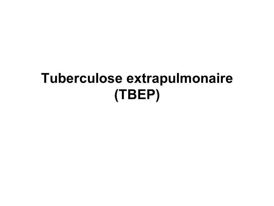 Tuberculose extrapulmonaire (TBEP)
