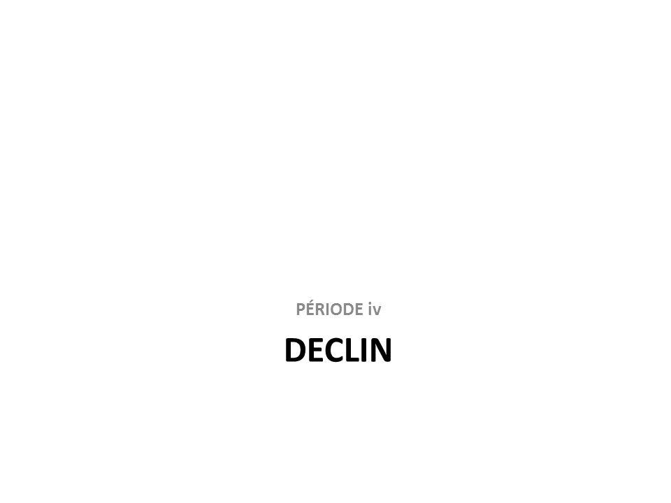DECLIN PÉRIODE iv