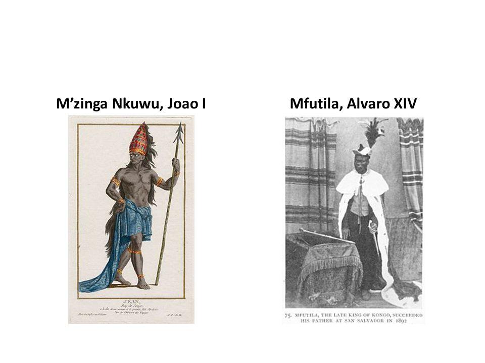 Mzinga Nkuwu, Joao IMfutila, Alvaro XIV