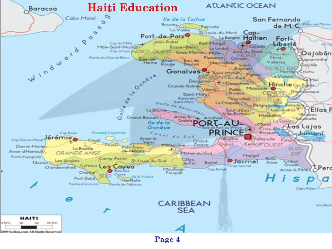 Page 4 Haiti Education