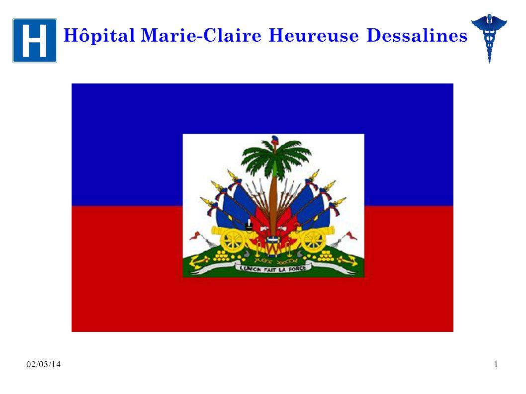 02/03/141 Hôpital Marie-Claire Heureuse Dessalines