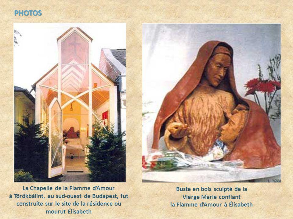 Dautres moyens nous sont aussi donnés pour mettre à lœuvre la puissance de la Flamme dAmour tel que le jeûne, loffrande quotidienne du travail et ladoration réparatrice du Saint-Sacrement.